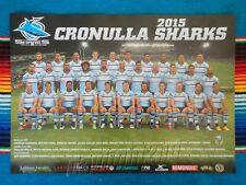 ✺New✺ 2015 CRONULLA SHARKS NRL Poster - 42cm x 29.5cm