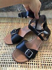 Dolce vita black buckle sandal size 6