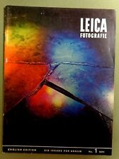 1971 LEICA MAGAZINE Vintage Photography STAINED GLASS CHURCH WINDOW Alef cover