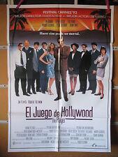 A3197 El juego de Hollywood (The Player) Tim Robbins, Greta Scacchi, Whoopi Gold