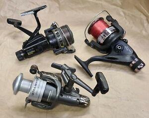 Used Fishing Reels bundle, 3 reels for refurb/spares. Lot 2 of 2
