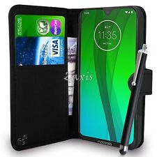 56Wallet Case Pouch PU Leather Cover For Motorola Moto G5, G6, G7 Mobile Phones