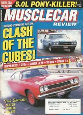 MUSCLE CAR REVIEW 1991 MAR - LITTLE GTO, RARE '64 442