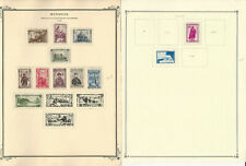 Mongolia Stamp Collection on 25 Scott Quad Pages, 1932-1965, JFZ