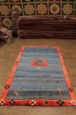 Genuine Rare Size Tribal Large Gabbeh Persian Wool Rug Oriental Area Carpet 7X12