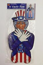 Beistle Uncle Sam Fully Jointed History Class USA 4th of July Patriotic NIP