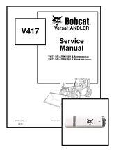 Bobcat V417 VersaHANDLER Workshop Repair Service Manual 6904956 USB + Download