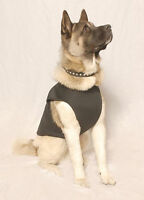 Waterproof Winter Neoprene Dog Coat Jacket Vest Fleece Lined All Sizes