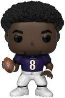 Funko Pop! NFL Legends: Baltimore Ravens - No Helmet Lamar Jackson Vinyl Figure