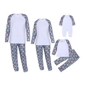 Family Christmas Pyjamas Festive Matching Adult Xmas Nightwear Pajamas PJs Sets