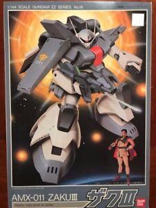 ZZ Gundam # 19 AMX-011 Zaku III 1/144 Bandai (Vintage Kit) Limited Supply Left!