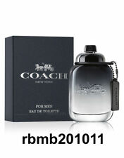 Coach New York Cologne for Men 3.3 oz / 100 ml EDT Spray New Retail Sealed Box