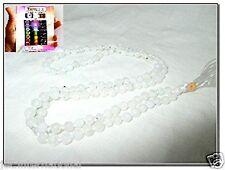 Best Quality Rainbow Moonstone Japa Mala Free Booklet Jet International Crystal