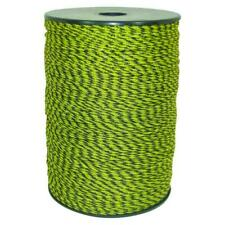 1312 ft. Yellow Black Poly Wire Electric Fencing Livestock Fence Roll Conductor
