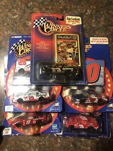 Lot Of 5 NASCAR WINNERS CIRCLE/ACTION 1:64 Diecast New In Package Awesome Paint