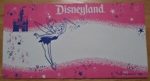 Disneyland Tinkerbell Disney Dollar Envelope (Retired)