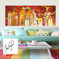 "Art Painting Print Australia Jane Crawford MIMI gods bush Aboriginal 39"" x28"