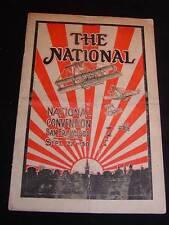 "Antique ""THE NATIONAL"" Magazine, Sep. 1915 National Blank Book Co., Holyoke, MA."