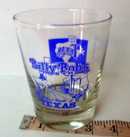 Billy Bob's Texas On the Rocks Highball Glass Fort Worth Stockyards