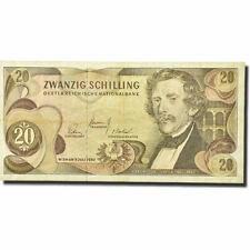 [#274166] Banknote, Austria, 20 Schilling, 1966-1970, 1967-07-02, Km:142a