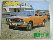 Datsun 180B Estate brochure c1970's