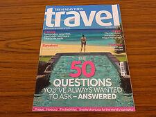 The Sunday Times Travel Magazine: October 2012: Canada, Cuba, Barcelona