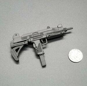 "1:6 Ultimate Soldier Uzi Submachine Gun w/ Folding Stock 12"" GI Joe BBI Dragon"