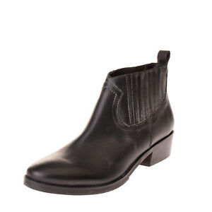 GEI GEI Leather Chelsea Boots EU36 UK3 US6 Treated Elasticated Inserts Pull On