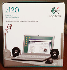 Logitech z120 Stereo Speakers (980-000524) USB Powered for PC, Mac, iPod & MP3