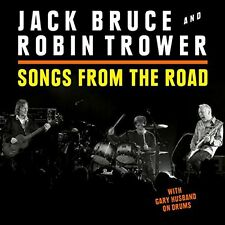 JACK BRUCE & ROBIN TROWER CD - SONGS FROM THE ROAD [CD/DVD](2016) - NEW