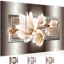 Wandbild Wohnzimmer Kunstdruck Blumen Magnolien Moderne Bilder XXL Schlafzimmer