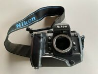 For Parts / As IS Nikon F4 Old Film Camera AS IS FOR PARTS Broken Camera