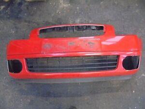 CITROEN C2 GT 2004 FRONT BUMPER RED KKNB