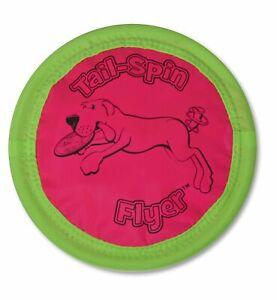 Aspen Booda SOFT BITE FLOPPY DISC Gentle Dog Fetch Toy Flyer Frisbee 10 inch