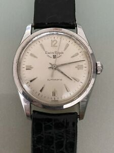 Vintage Gallet Racine Royale Automatic Swiss Made Wristwatch 17J 1580 Running
