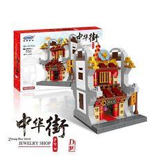 Xingbao XB-01101D Zhonghua Street Lego Brick Block Building Jewelry Shop