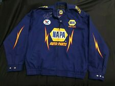 Napa Auto Parts Racing Nascar/Nhra Jacket Sz L 2 Autographs