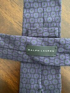 Ralph Lauren Purple/Black Tie