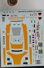 decals decalcomanie ferrari f355 warm up n88 lm le mans 1995  1/43