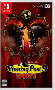 Winning Post 9 2021 NIntendo Switch Video Games Japanese Tracking NEW