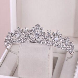 Bridal Hair Wedding Princess Tiara, Headband, Crown Austrian Crystals Tiara Box