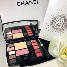 CHANEL Travel Makeup Palette DESTINATION Mascara Velvet Pouch Face Eyes Lips NEW