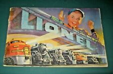 1952 LIONEL TRAINS POSTWAR CATALOG