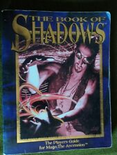 The Book of Shadows Mage: The Ascension USED trade paperback Players Guide