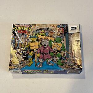 """Vintage 1987 TEENAGE MUTANT NINJA TURTLES TMNT """"Splinter"""" 100 Pc. PUZZLE"""