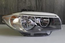 Headlight Right + BMW 1er E82 E88 LCI Facelift+Genuine Halogen+7263640