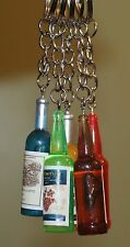 3 pcs Keychain bottle of different colors as a gift for men