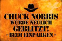 Chuck Norris Frase 12 Letrero Letrero de Metal Arqueado Metal Tin Sign 20 X 30Cm