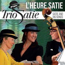 SATIE, ERIC-Satie and his Songs - Trio Satie CD NEW
