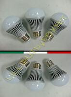 6 LAMPADINE LED A GOCCIA 5 W 500 LUMEN LAMPADA E27 220V LUCE BIANCA